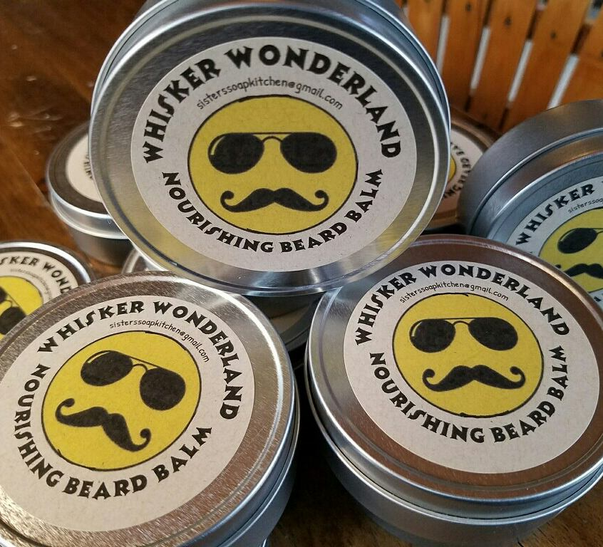 Whisker Wonderland, beard balm. - Sisters Soap Kitchen