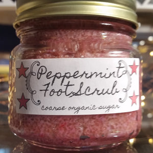 Peppermint Foot Scrub - Sisters Soap Kitchen
