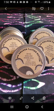 Load image into Gallery viewer, No More Kraken!! Set of 4 Oatmeal and Honey Goats Milk Soap and 1 tin of No Kraken Tattoo Butter - Sisters Soap Kitchen