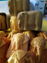 Load image into Gallery viewer, Handmade elephant soap in a decorative elephant box! - Sisters Soap Kitchen