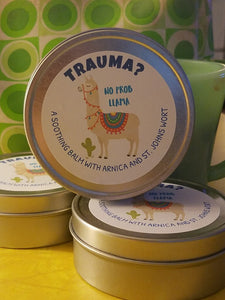 TRAUMA? ?? No Prob Llama! Healing balm. - Sisters Soap Kitchen