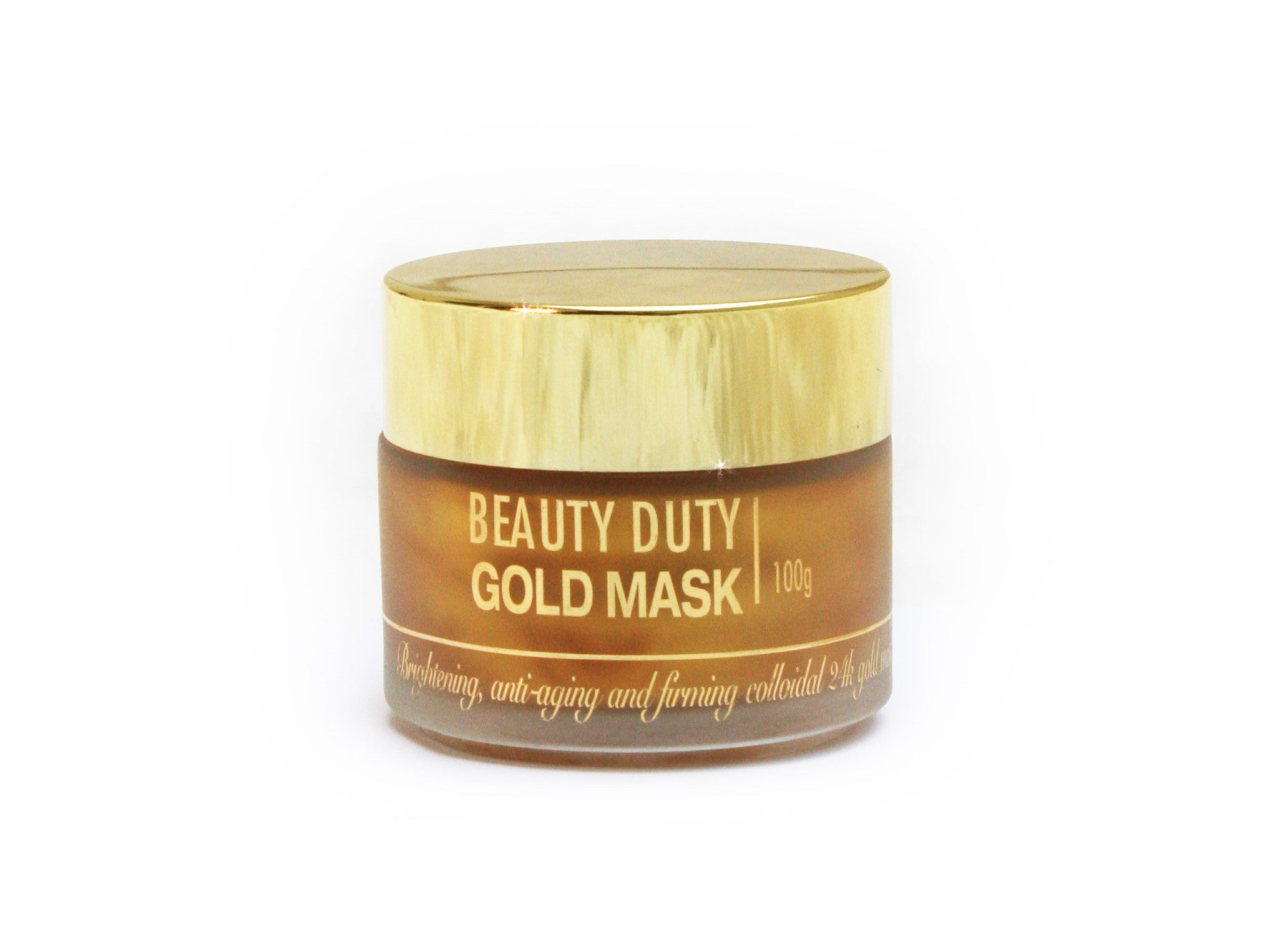 Gold Mask - English