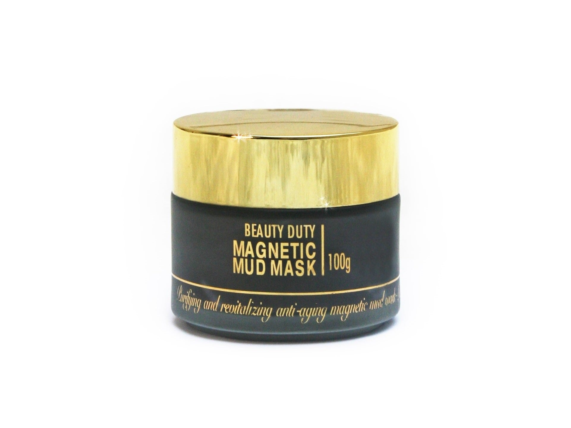 Magnetic Mud Mask - English