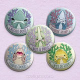 Shark Puns 3 \\ 3in Buttons & Magnets