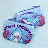 You're Fintastic \\ Coin Purse