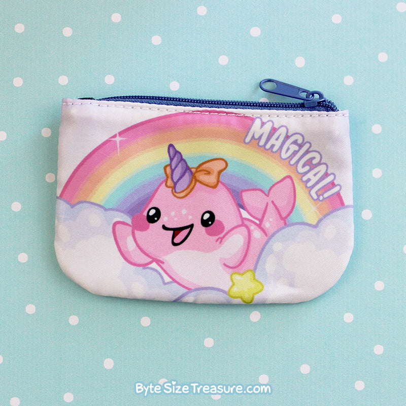 Baby Narwhal \\ Coin Purse