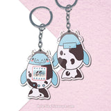 Sea Cow Aquagotchi \\ Acrylic Keychain
