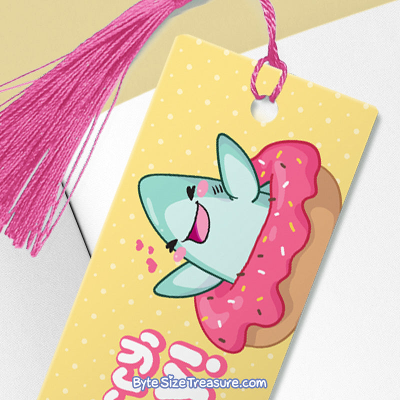 Donut Worry, Be Happy \\ Metal Bookmark