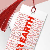 Save Our Earth \\ Metal Bookmark