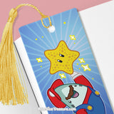 Super Star \\ Metal Bookmark