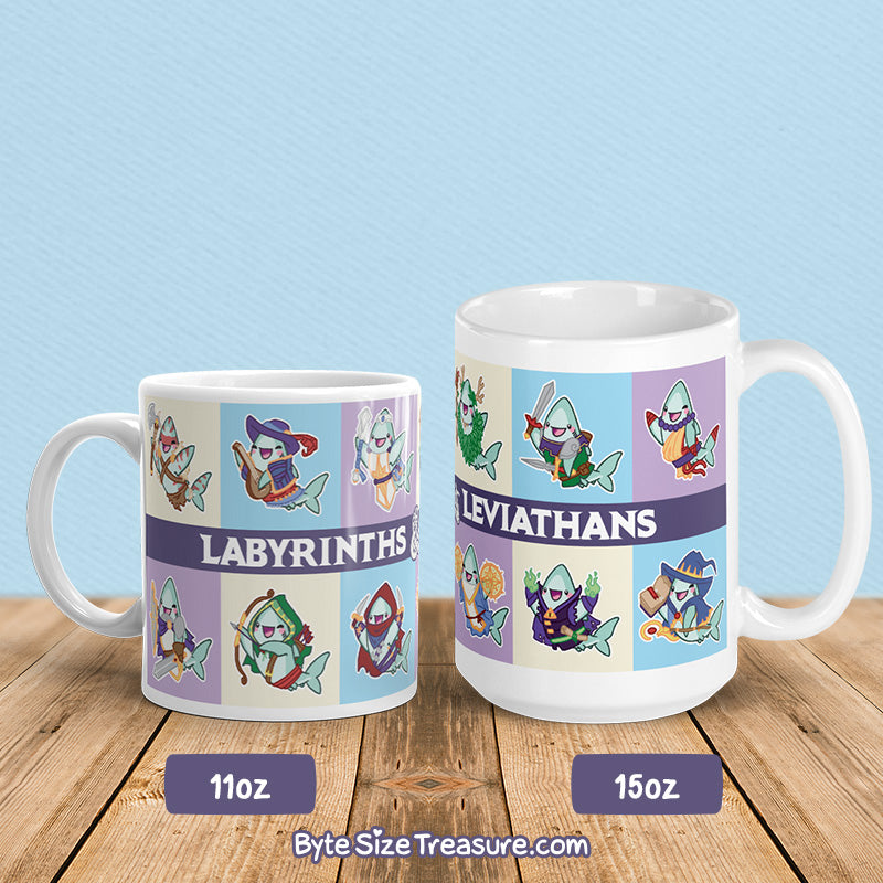 Byte's RPG Classes \\ Coffee Mug