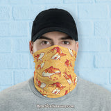Tiger Shark Pattern \\ Face Shield, Neck Gaiter