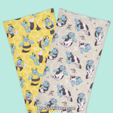 Sea Cows Pattern \\ Face Shield, Neck Gaiter