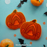 Fluorescent Halloween Pins