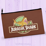 Jurassic Shark Helicoprion \\ Zipper Pouch
