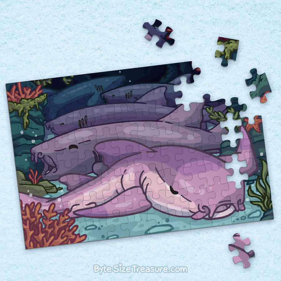 Nurse Shark \\ Jigsaw Puzzle