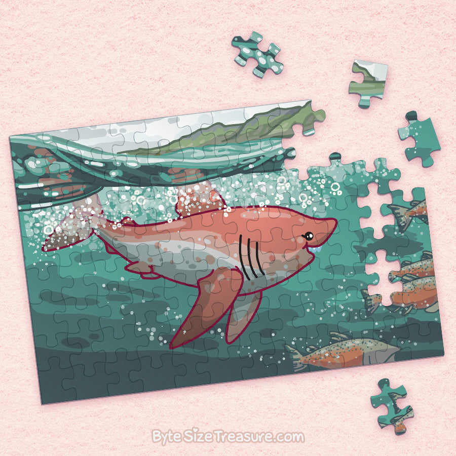 Salmon Shark \\ Jigsaw Puzzle