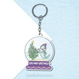 Seas and Greetings \\ Acrylic Keychain