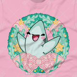 Pastel Holiday Shark Wreath \\ Short-Sleeve Adult Unisex T-Shirt