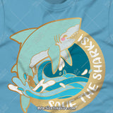 Save The Great White Sharks \\ Short-Sleeve Unisex T-Shirt