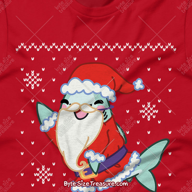 Santa Jaws \\ Unisex Adult Sweatshirt