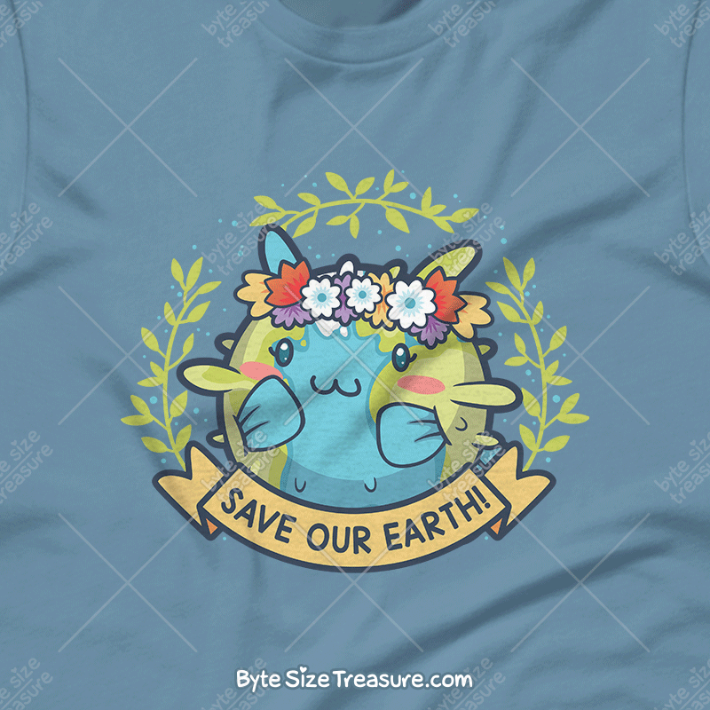 Save Our Earth \\ Short-Sleeve Adult Unisex T-Shirt