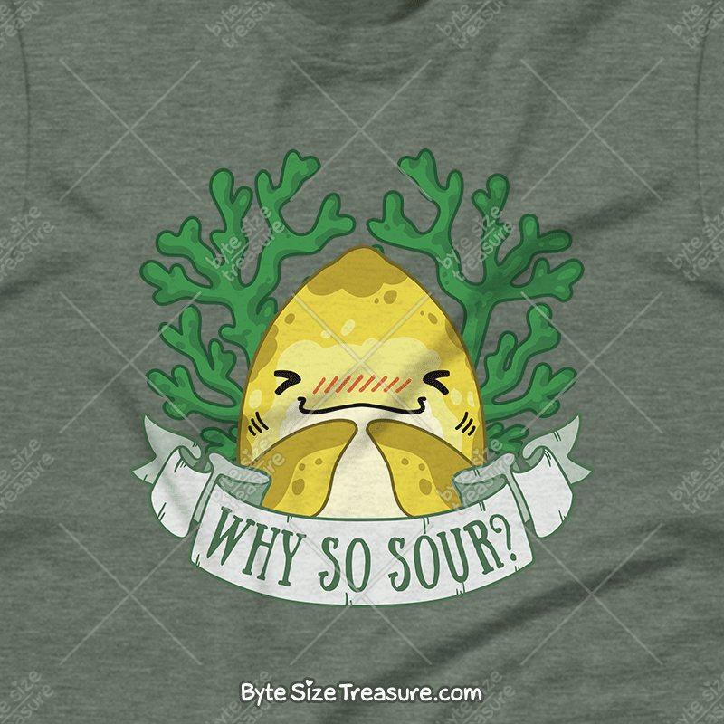 Why So Sour? \\ Short-Sleeve Adult Unisex T-Shirt