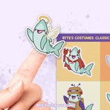 Byte's Halloween Costumes 2 \\ Sticker Sheet