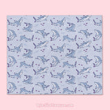 Blacktip Reef Shark \\ Throw Blanket