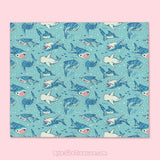 Whale Shark \\ Throw Blanket