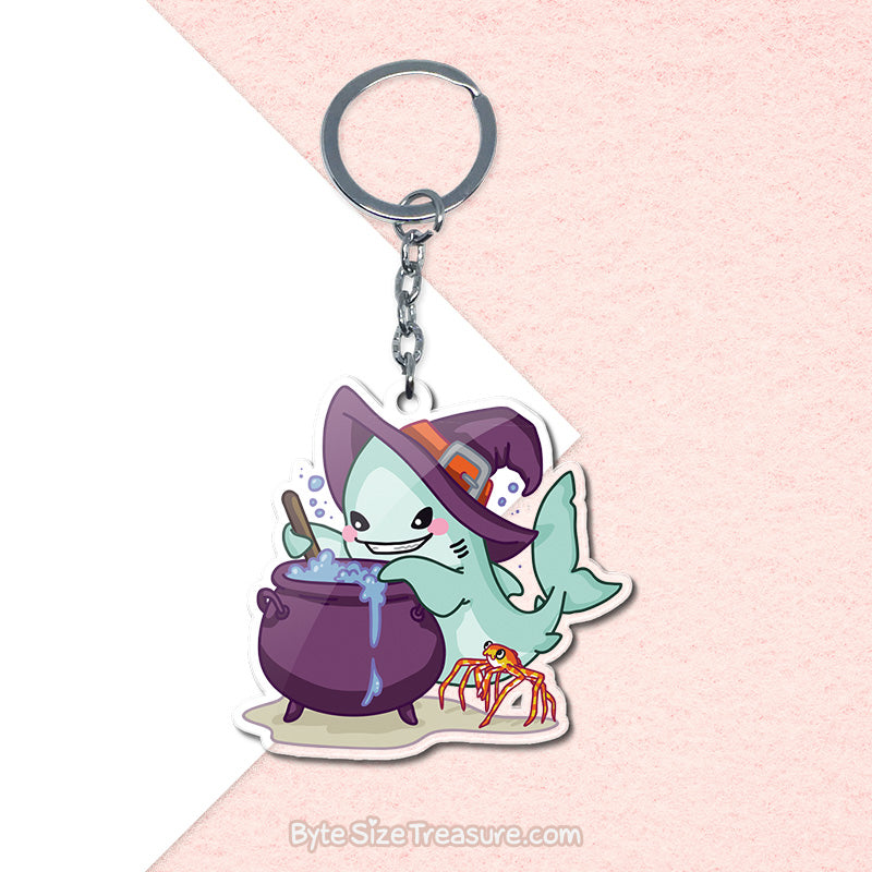 Bubble Bubble Toil & Trouble \\ Acrylic Keychain