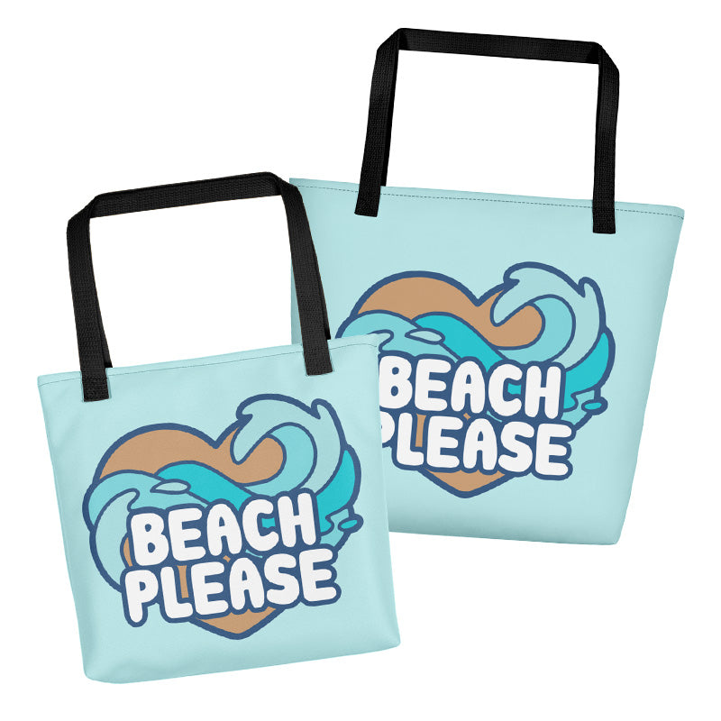 Beach Please \\ Tote Bag