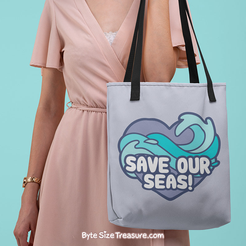 Save Our Seas \\ Tote Bag
