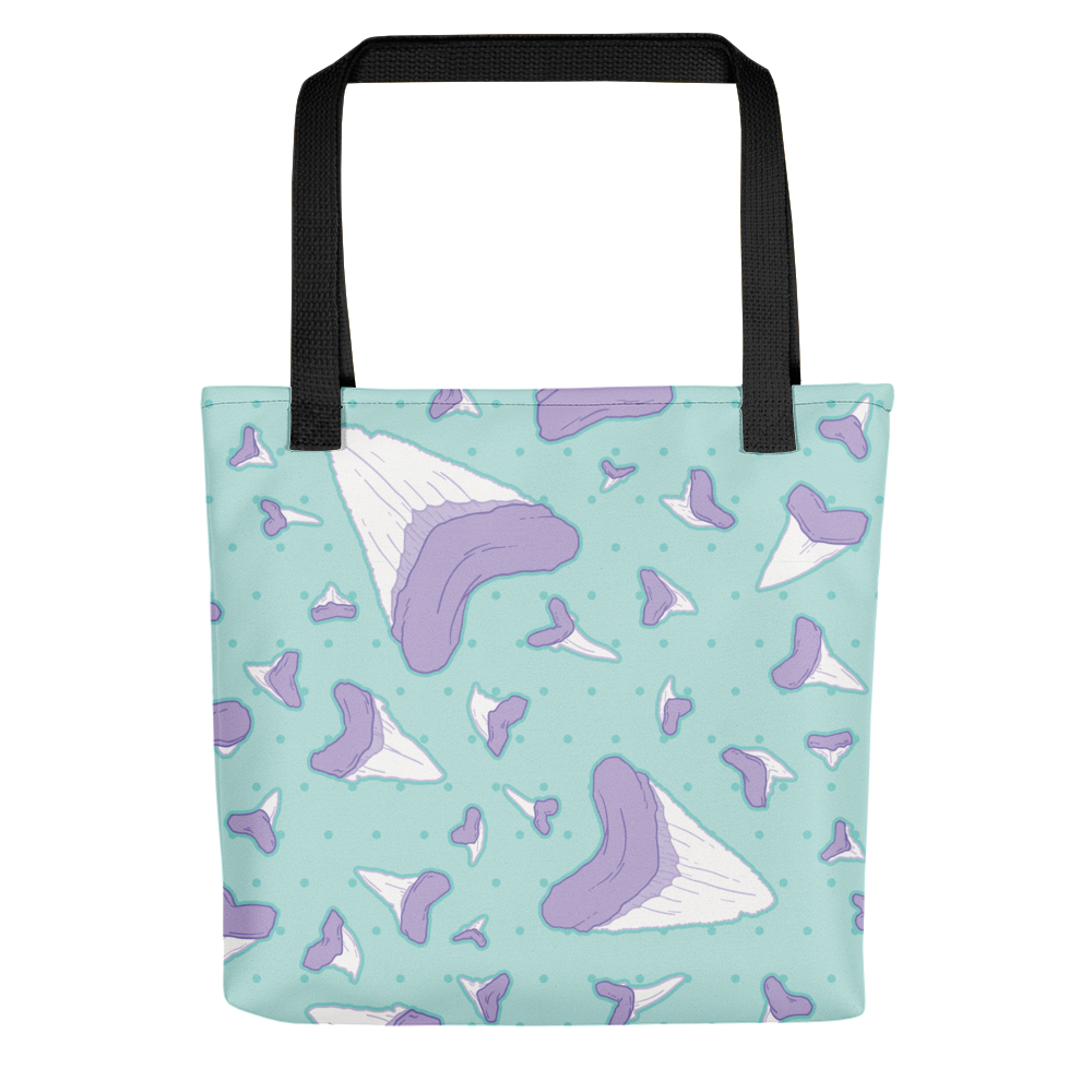 Shark Teeth \\ Tote Bag