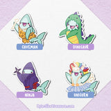 Byte's Fantasy Costumes \\ Acrylic Pins