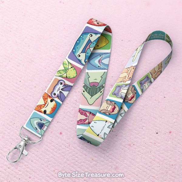 Sharky Bunch Lanyard