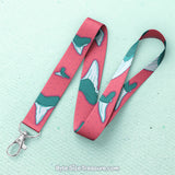 Red Shark Tooth Lanyard