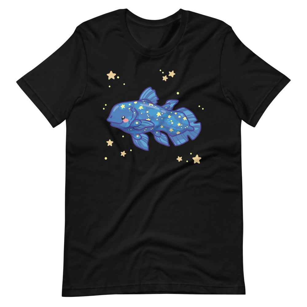 Starry Coelacanth \\ Short-Sleeve Adult Unisex T-Shirt