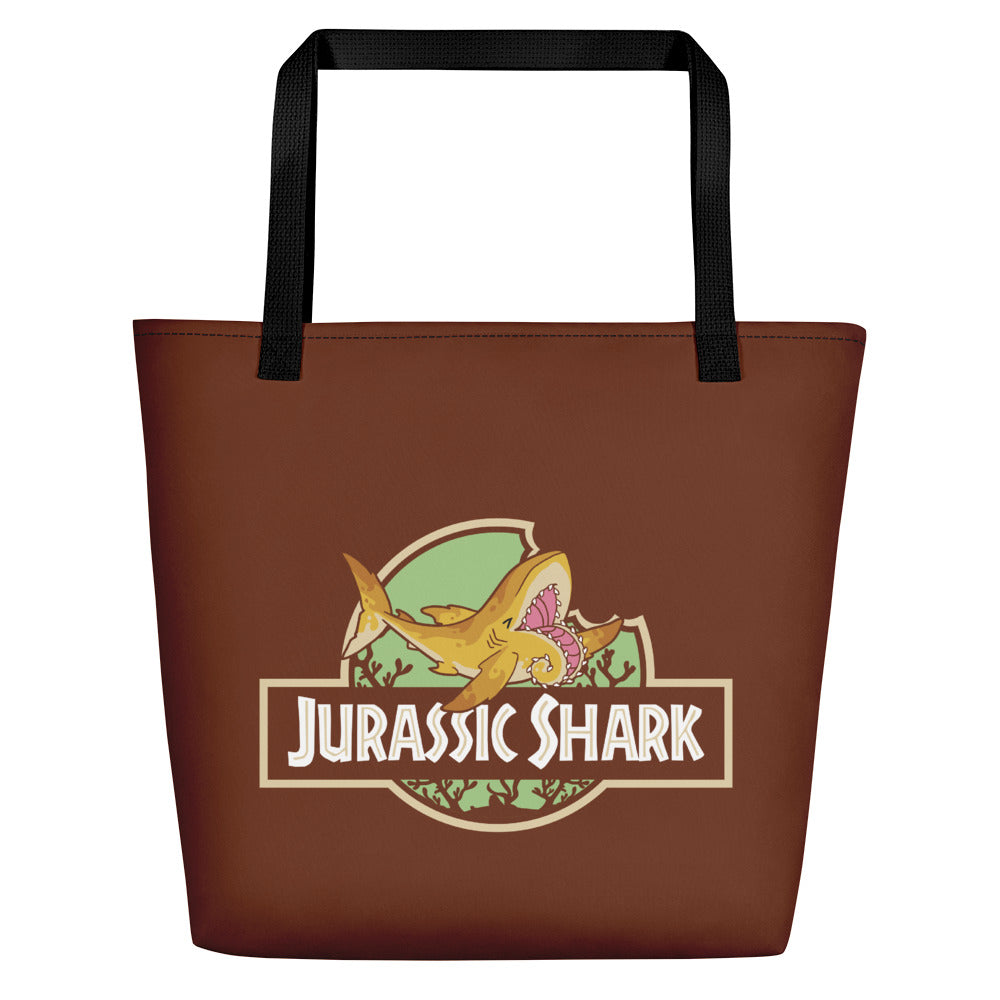 Helicoprion Jurassic Shark \\ Tote Bag