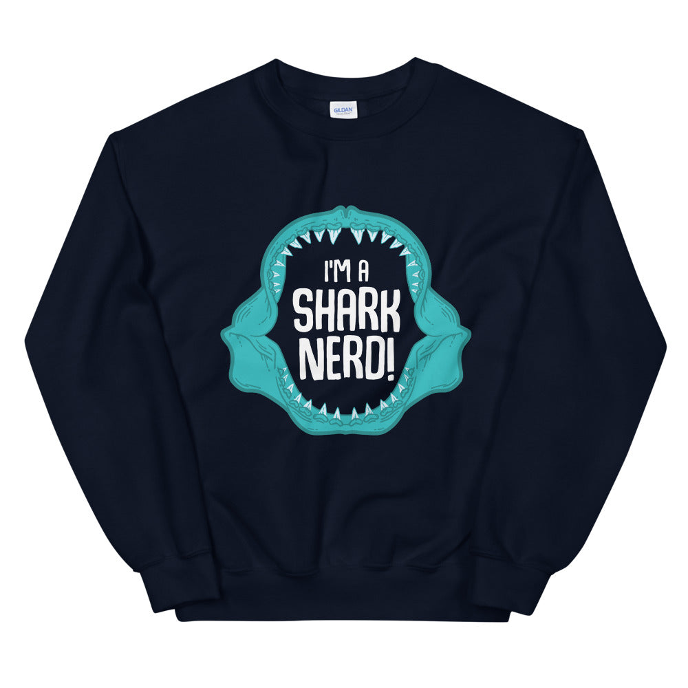 Shark Nerd \\ Unisex Adult Sweatshirt