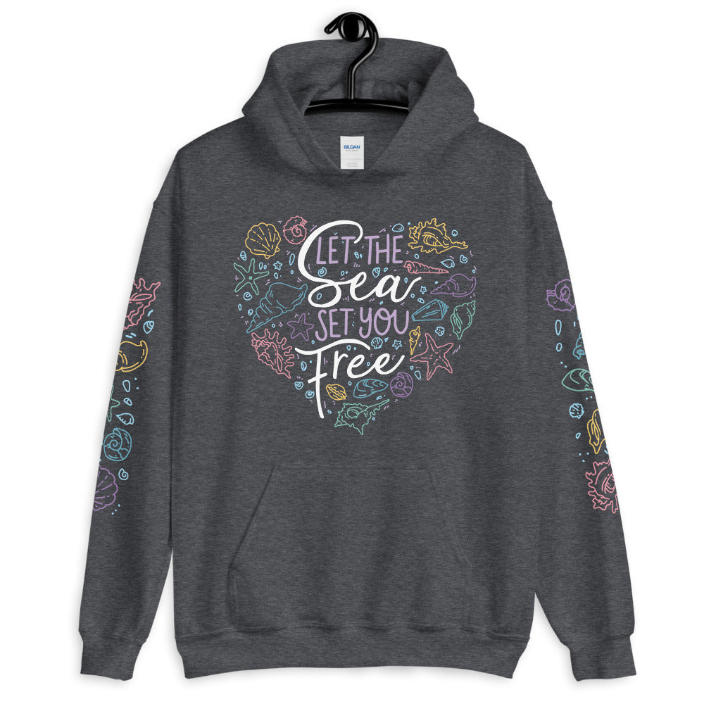 Let the Sea Set You Free! \\ Unisex Hoodie