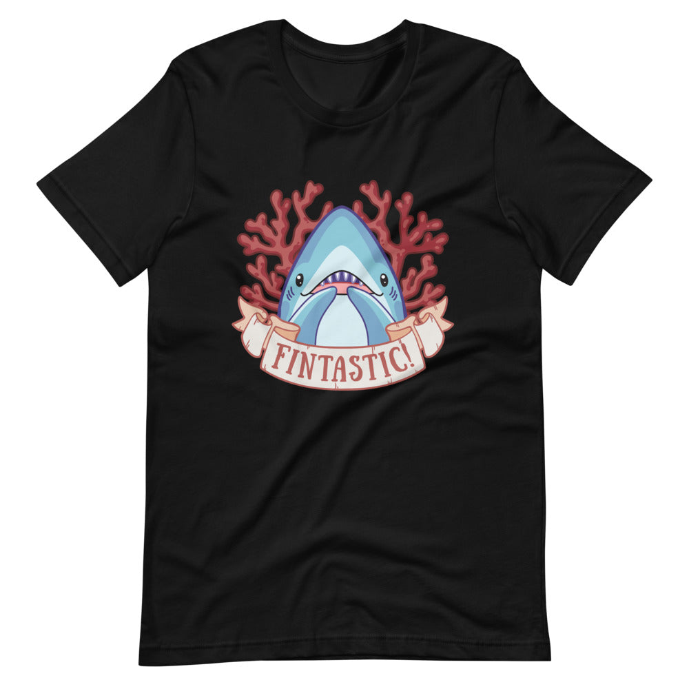 Fintastic! \\ Short-Sleeve Adult Unisex T-Shirt