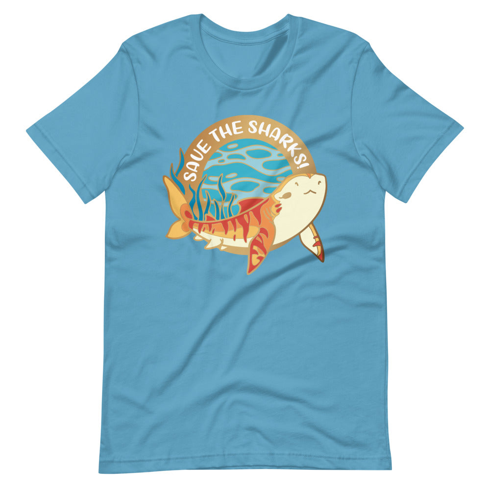 Save The Tiger Sharks \\ Short-Sleeve Unisex T-Shirt