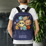 Planetary Blowfish \\ Backpack