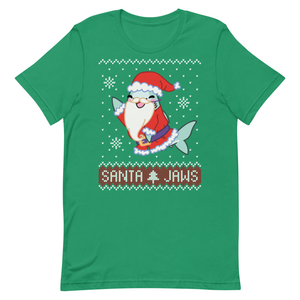 Santa Jaws \\ Short-Sleeve Unisex T-Shirt