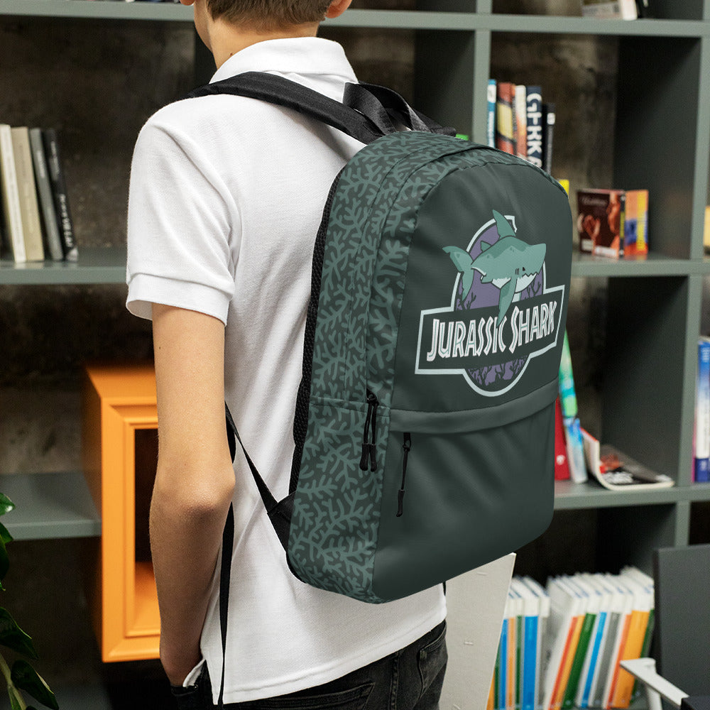Megalodon Jurassic Shark \\ Backpack