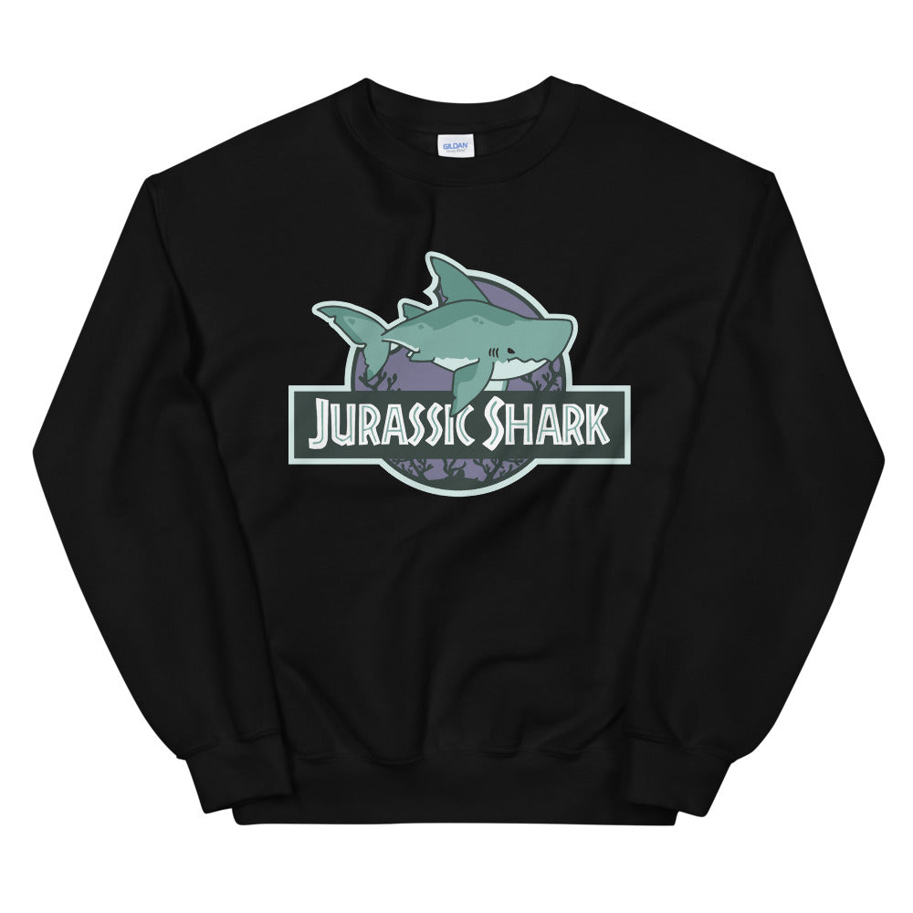 Jurassic Shark \\ Unisex Adult Sweatshirt