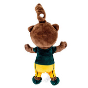 Baylor Bears Bruiser Mascot Pacifier Holder Plush Toy