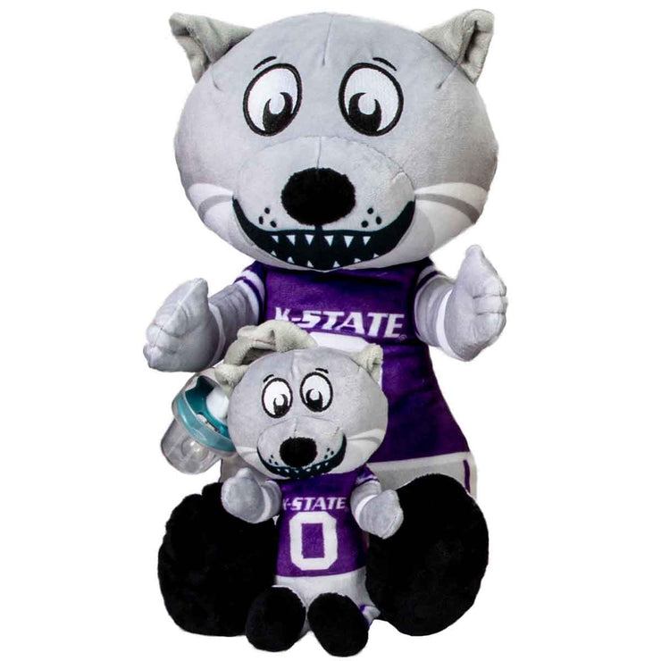 Kansas State University - Willie the Wildcat Plush Toy COMING SOON