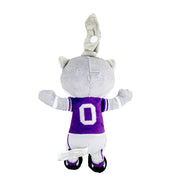 Kansas State Willie the Wildcat Pacifier Holder Plush Toy